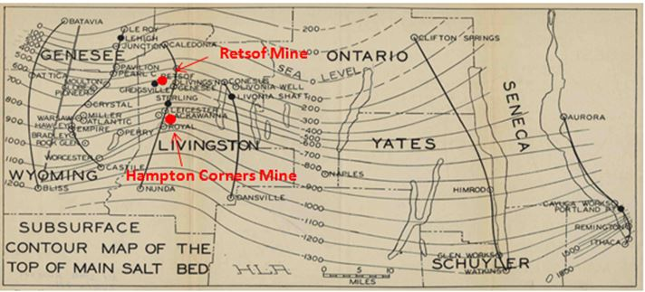 Figure 14 from Alling, 1928. Note all the salt operations active almost 90 years ago.