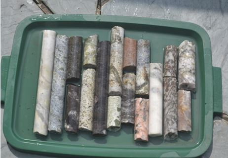 My selection of drill core