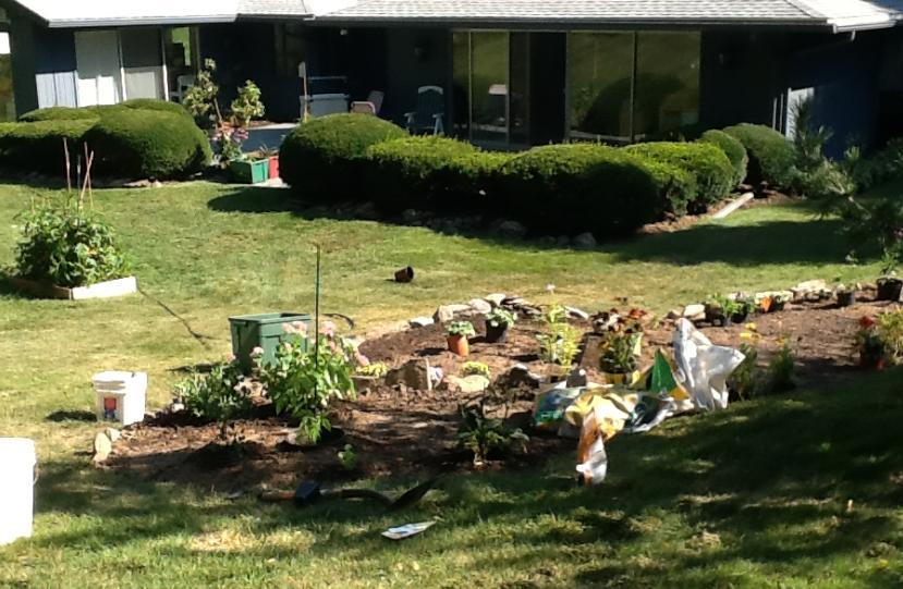 garden and house Aug 30 2012