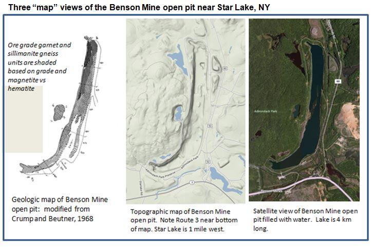 benson mines maps