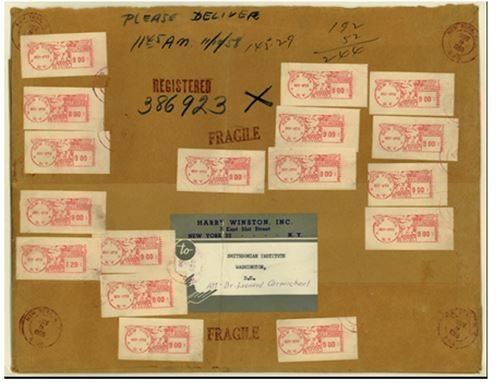 This remarkable Auxiliary Marking envelope is now on display at the National Postal Museum in DC.