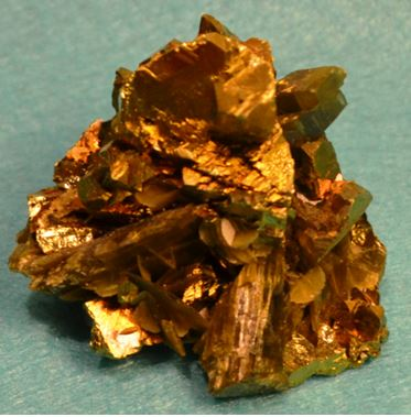 Two inch chalcopyrite specimen from China.