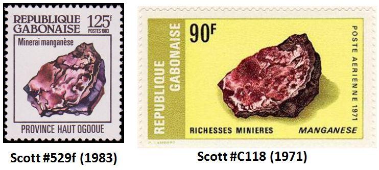 manganese stamps